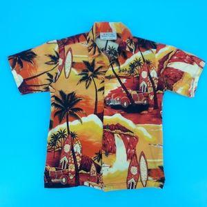 Royal Hawaiian Creations Boy's 8 Camp Shirt